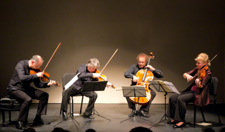 The Takacs Quartet performed at Portland State University. Photo: John Green.