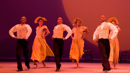 """The Alvin Ailey company in """"Revelations."""" Photo: Nan Melville"""