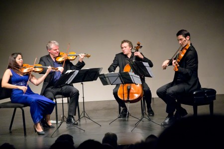 Pacifica Quartet performs at Portland State University's Lincoln Hall. Photo: John Green