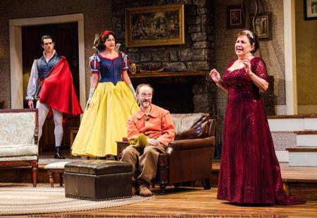 From left: Nick Ballard (Spike), Carol Halstead (Masha), Andre Sellon (Vanya), Sharonlee McLean (Sonia). Photo: Patrick Weishampel