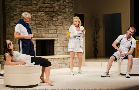 "In ""Other Desert Cities,"" the Wyeth family gathers for Christmas and tennis./Patrick Weishampel/blankeye.tv"