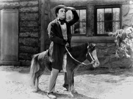 Buster Keaton was a genius of the visual joke.