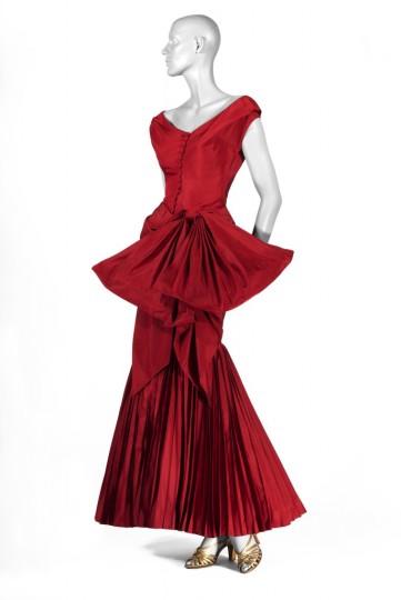 Fabio de Benedettis, Germana Marucelli dress, 1950, Chromogenic print, Collezione Enrico Quinto e Paolo Tinarelli.