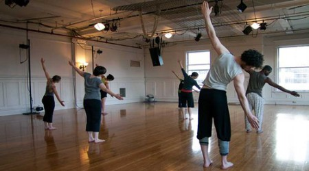 A class at Conduit Dance studio/Conduit dance