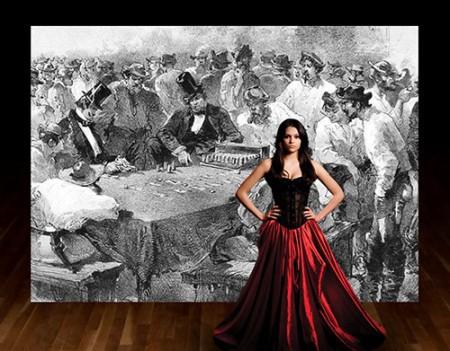 "Tricia Castañeda-Gonzales in ""Remme's Run"" during Fertile Ground."