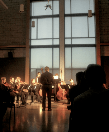 Public performances and responses benefit young composers.