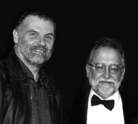 Svoboda and Gabel in 1999. Photo: Françoise Simoneau.