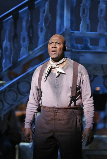 "Arthur Woodley, as Joe, delivers ""Ol' Man River."" Photo: Cory Weaver"
