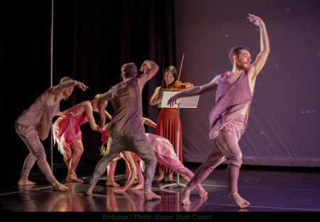Dance and music, all intertwined. Photo: Blaine Truitt Covert