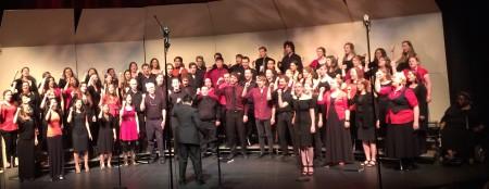 "Jason Sabino conducted University Choir in ""Ukuthula."""