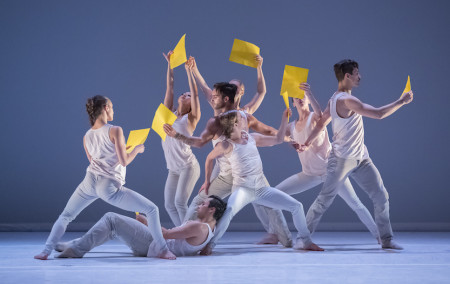 "NW Dance Project dancers in the world premiere of Rachel Erdos' ""Preludes 19-24""/Blaine Truitt Covert"
