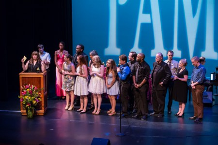 "The cast of Staged!'s ""Parade"": Outstanding Ensemble winners. Photo: David Kinder"