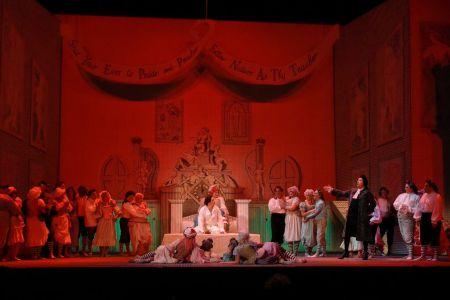 Stravinsky's The Rake's Progress opens at Portland Opera. Photo: Karen Almond.