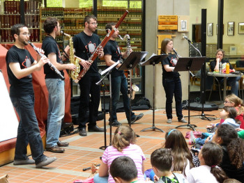 Akropolis Reed Quintet performs in Gresham Friday.