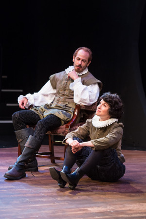 Michael Mendelson and Kayla Lian in Portland Shakespeare Project's 'Twelfth Night'/David Kinder