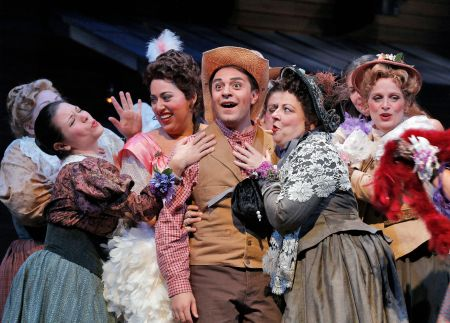 Portland Opera's The Elixir of Love opens Friday.