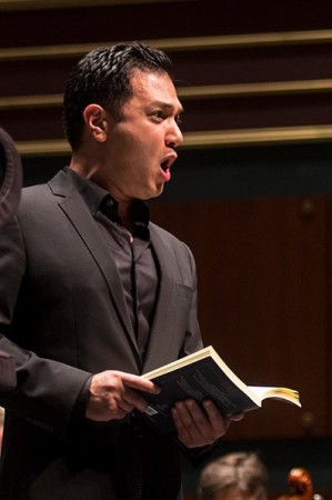 Nicholas Phan sang the role of the Evangelist. Photo: OBF.
