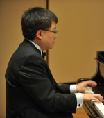 Michael Liu joins Fred Lu in duo piano music at Michelle's Pianos.