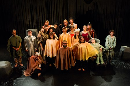 "The cast of PHAME's ""Up the Fall."" Photo: Sarah Law Photography."