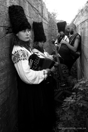 DakhaBrakha performs at Portland's Time Based Art Festival. Photo: Tetyana Vasylenko