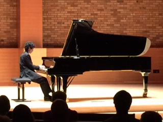 Justin Bartlett led off Portland Piano International's new Rising Star series.