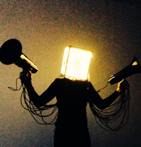 Performance artists Kelly McGovern