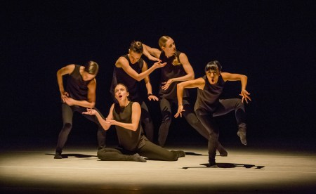 "NWDP's women dancers in ""The Presence of Absence."" Photo: Blaine Truitt Covert"
