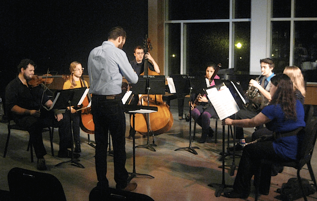 OCF premiers new music by young composers. Photo: G. Ferrington.