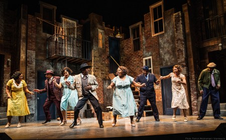 Behavin' and otherwise, from left: Charity Angél Dawson, David Jennings, Olivia Phillip, André Ward, Maiesha McQueen, DeMone, Mia Michelle McClain and David St. Louis. Photo: Patrick Weishampel/blankeye.tv.
