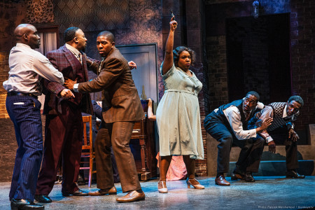 Shooting stars, from left: David St. Louis, David Jennings, Jerrod Neal, Maiesha McQueen, Ricardy Charles Fabre and André Ward. Photo: Patrick Weishampel/blankeye.tv.