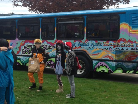 Outside the Eugene Comic Con./Brian Kearney