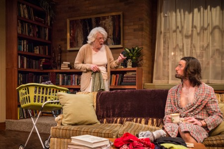 Vana O'Brien and Joshua Weinstein in '4000 Miles' at Artists Repertory Theatre/Owen Carey