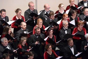 Oregon Repertory Singers perform their holiday concert several times this month at Portland's First United Methodist Church.