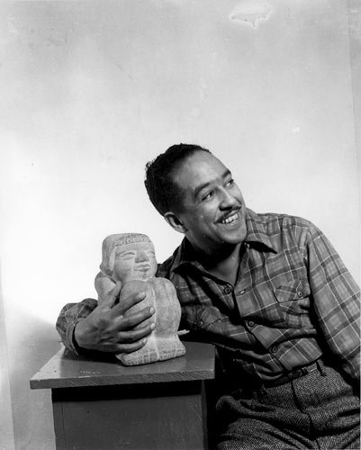 Langston Hughes, 1943. Photo: Gordon Parks, Library of Congress