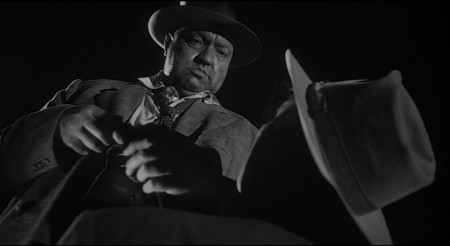 """Orson Welles in """"Touch of Evil."""" Courtesy of the Northwest Film Center"""