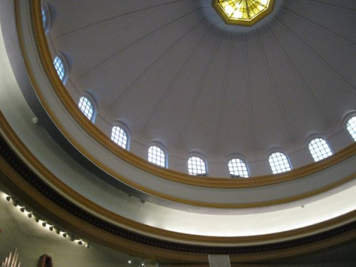 First Christian Church's parabolic dome provided inspiration for several of the works to be performed there at Cascadia Composers' January 30 concert.