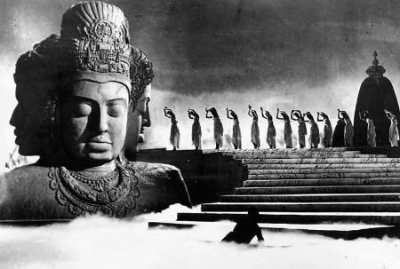 Raj Kapoor's AWAARA (1951) at the Northwest Film Center.THE KOBAL COLLECTION / RK FILMS