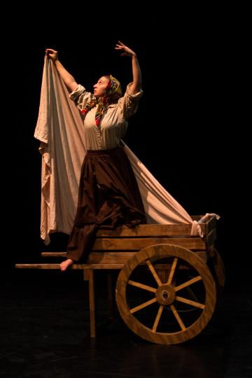 "Reiter as ""The Maiden Tsar."" Photo: Trevor Sargent"