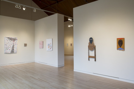 and from this distance one might never imagine that it is alive, (left to right) Amanda Wojick, Michelle Ross, and Michael Lazarus, 2015. Courtesy of The Art Gym.