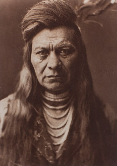 "Edward Sheriff Curtis, ""Black Eagle, Nez Percé,"" 1911, photogravure, from The North American Indian."