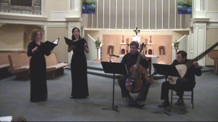 Musica Maestrale played Couperin in Portland.