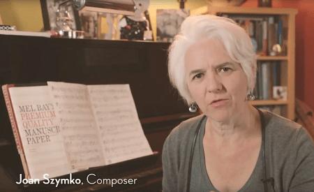 Portland composer Joan Szymko. Photo: Jake Wehrman Video.