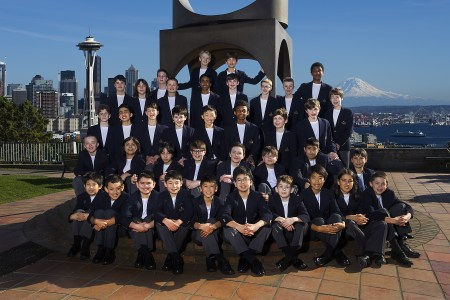 Northwest Boychoir sings at Portland's Trinity Cathedral on March 18. Photo: Ben Van Houtem.