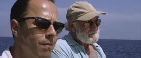 """Giovanni Ribisi and Adrian Sparks in a scene from """"Papa: Hemingway in Cuba"""""""