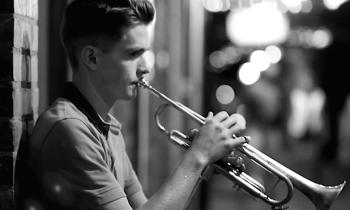 Eugene jazz musician Tony Glausi. Photo: Tyler Sams.