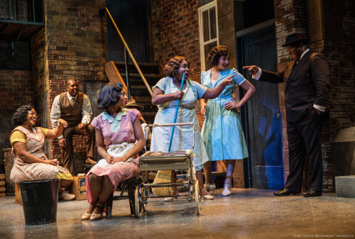 "Best production nominee ""Ain't Misbehavin'"" at Portland Center Stage. Patrick Weishampel/blankeye.tv."