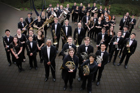 UO Wind Ensemble joins other University of Oregon performers in the big spring concert.