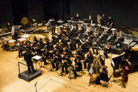 OSU Wind Ensemble plays DJ Spooky.