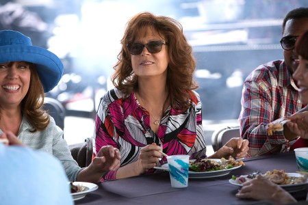 Susan Sarandon as Marni Minervini in THE MEDDLER. Photographer: Jaimie Trueblood, Courtesy of Sony Pictures Classics