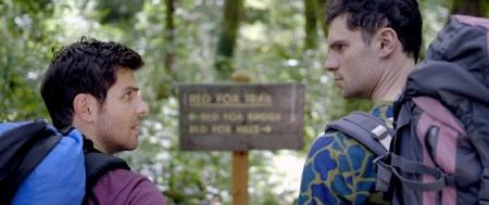 "David Giuntoli and Flula Borg star in ""Buddymoon."""